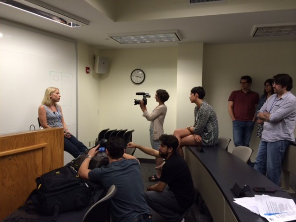 Some of the Gideon Promise attorney's doing a mock video based on a case they may start with when they get home.