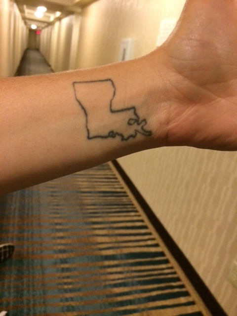 Luisiana tat! This is when you know your attorney is down for their state.
