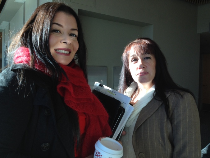 San Mateo County Juvenile Private Defender Monika Loya and Mom Cherisse Bergeron