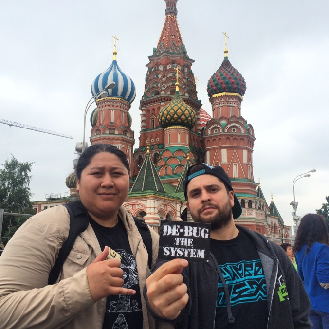 Social bio video trainers Jean and Fernando on the first day we arrived in Moscow.